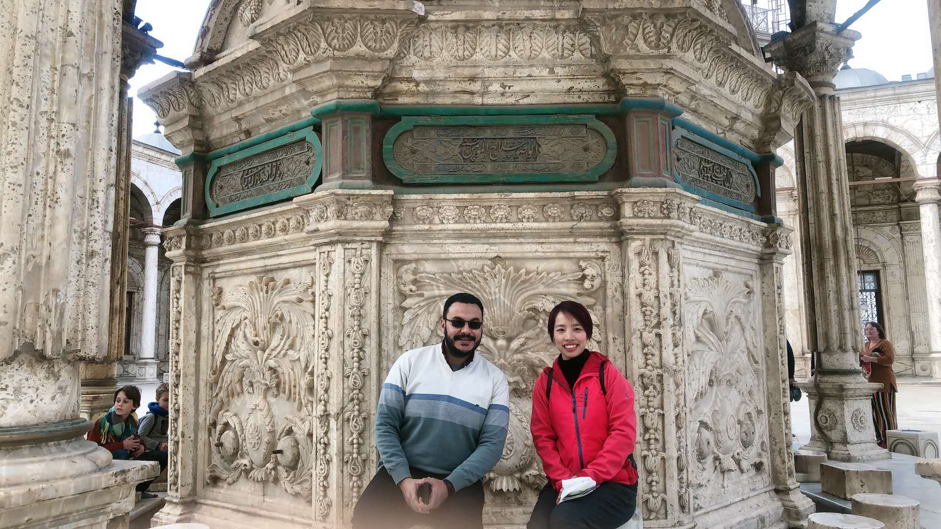cleints took to tour in City Cairo