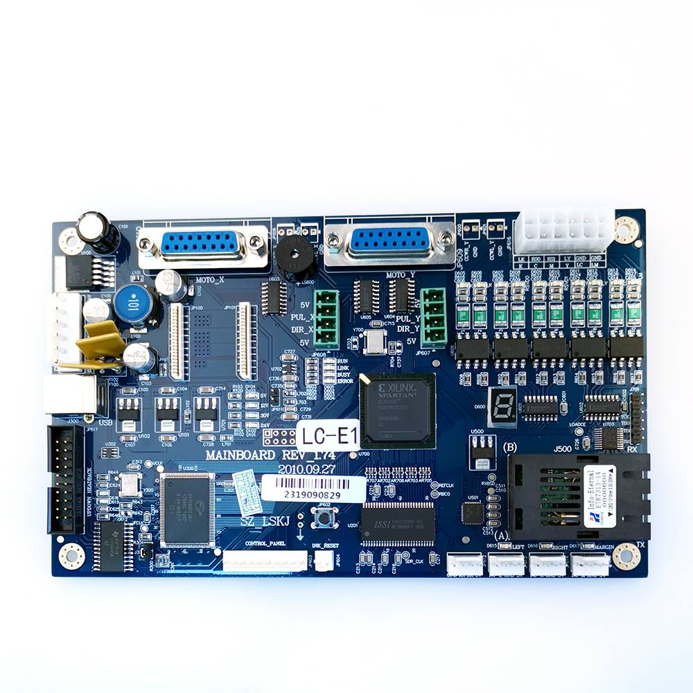 Galaxy DX5 eco solvent print head mainboard version 1.4 cabezal main board