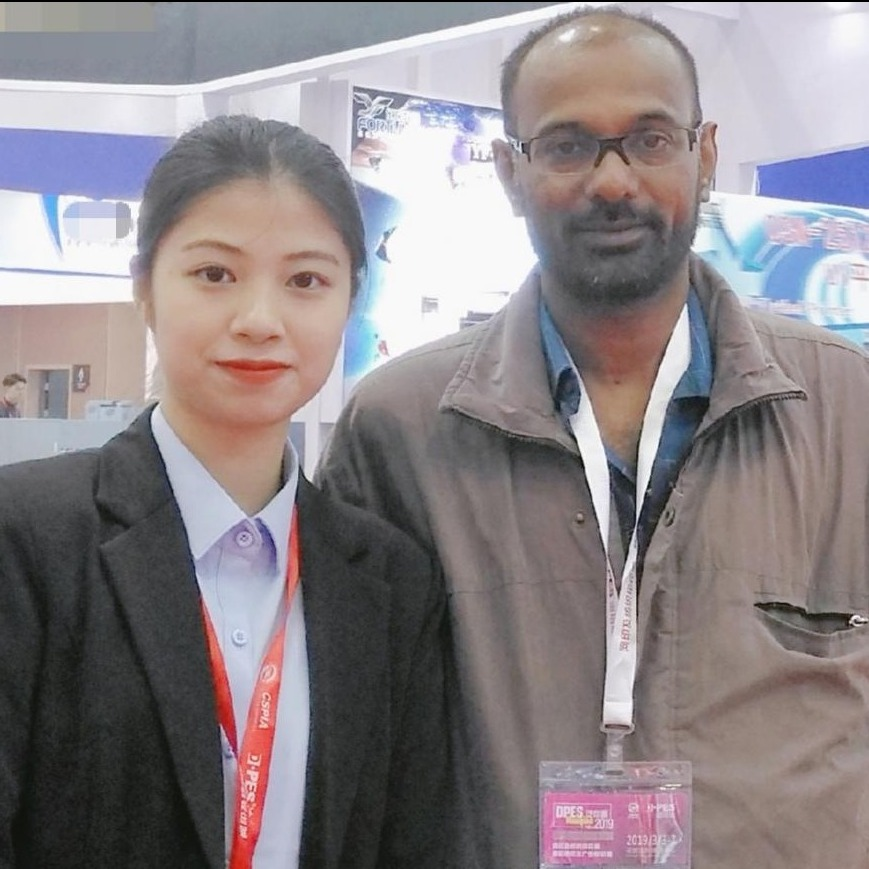 Nice cooperation With indian Client